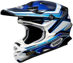 motocross bike accessories shoei vfx w capacitor dirt bike riding dot motocross helmets ebay