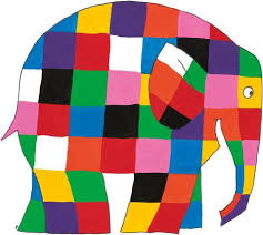 Patchwork Elephant Book - 10 lessons for modern from elmer the patchwork elephant