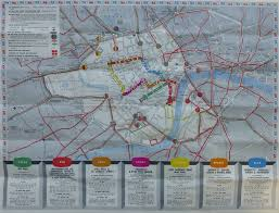 London Bus Map London Maps A London Inheritance
