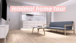 minimal apartment tour 2017 cinematic version youtube
