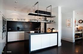 floating kitchen island kitchen 12 awesome black and white kitchen design ideas photos