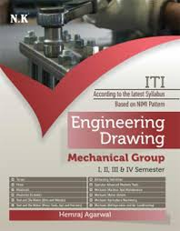 engineering book shops in delhi iti engineering drawing mechanical i iv sem iti
