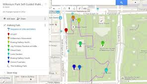 chicago map millennium park chicago map and tour free tours by foot