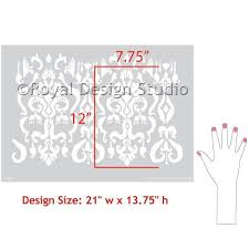 Stencils For Home Decor Ikat Pattern Furniture Crafting Stencils Diy Thanksgiving Home