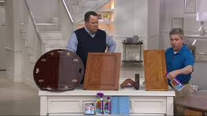what is the best furniture restorer rejuvenate cabinet cleaner restorer kit w wood repair color markers on qvc