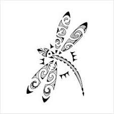 tribal dragonfly tattoos ideas dragonflies