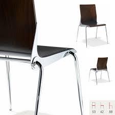 chaise de cuisine design chaise salle à manger cuisine design métal chromé