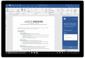 resume sle download docx viewer microsoft releases its linkedin resume helper for word