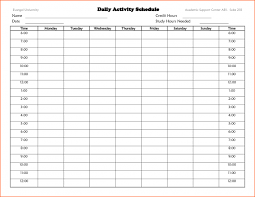 time schedule templates template with 15 minute intervals