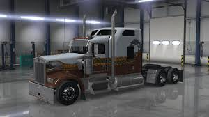 kenworth w900 hard truck skin american truck simulator mods