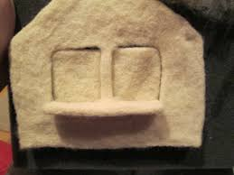 soft and malleable needle felted house tutorial part 2 making
