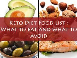 keto diet food list what to eat and what to avoid