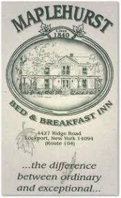 Bed And Breakfast Niagara Falls Ny Maplehurst Bed And Breakfast Accommodations Close To Niagara