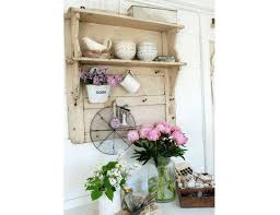 diy shabby chic home decor hanging wooden wall shelf home