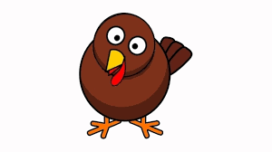 cartoon turkeys for thanksgiving turkey gobble sound effect youtube
