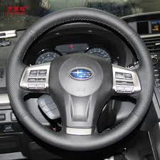customized subaru forester yuji hong car steering wheel covers case for subaru xv forester