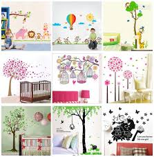 Removable Nursery Wall Decals 60x90cm Removable Wall Stickers Decals Nursery Wall Decor