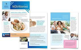 dietitian newsletter template word u0026 publisher