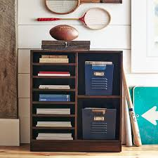 Dark Bookcase Stack Me Up Magazine Bookcase Pbteen