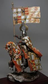 Miniature by More Excellent Miniature Knight Barding And Heraldry Painted