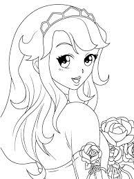 cute manga coloring pages cute anime girls coloring pages manga coloring pages coloring