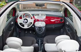 Fiat 500 Interior 2012 Fiat 500c Convertible Info And Car Review
