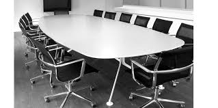 Black Boardroom Table Contemporary Boardroom Table Wooden Metal Rectangular Skel