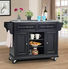 granite topped kitchen island wildon home kitchen island with granite top reviews wayfair