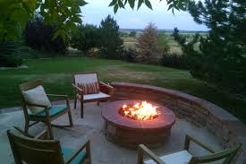Patio Firepit Summer Nights With Outdoor Pits Gas Pits Chimineas Cost