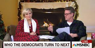 morning joe decorates for while discussing topics