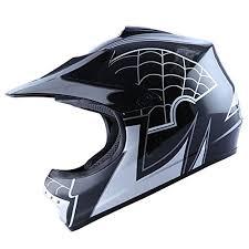 motocross helmet sizing motocross mx bmx bike youth spider black helmet size large
