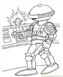 power rangers space colouring pages 2 coloring