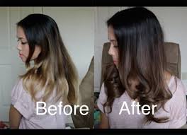 coloring over ombre hair how to darken an ombré with wella demi permanent hair dye youtube