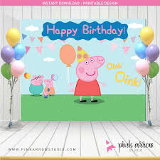 peppa pig birthday peppa pig birthday background background check all