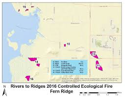 Blm Lightning Map Willamette Valley Prescribed Fire