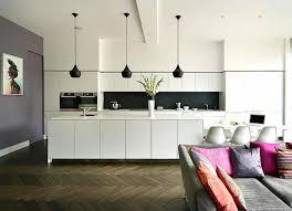 luminaire cuisine ambiance cosy par le luminaire led dans une cuisine moderne design