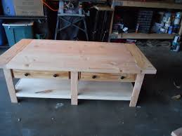 Coffee Table Design Plans Ana White Pottery Barn Benchwright Coffee Table Build Diy Projects