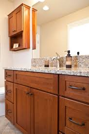 what u0027s big in little bathrooms cabinets plus