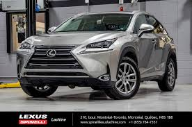 used lexus suv toronto 2016 lexus nx 200t luxe awd audio toit gps 9 used for sale in