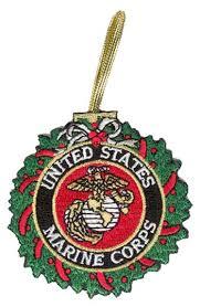 marine corps ornaments marine corps wreath