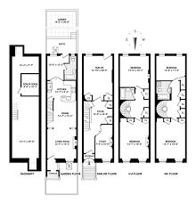 brownstone floor plans brownstone row house floor plans kitchen inspiration home plans