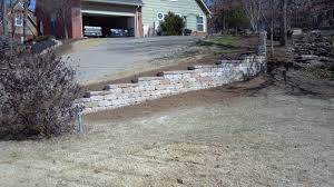 decorating chic versa lok retaining wall for landscaping ideas