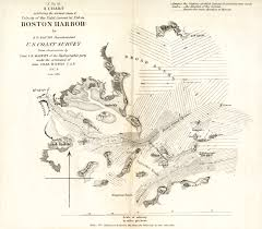 Boston Harbor Map by A Chart Exhibiting The Normal Course U0026 Velocity Of The Tidal