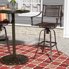 patio bar u0026 bar height furniture wayfair