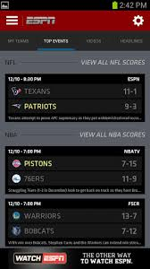 espn app for android espn scorecenter finally looks like an android app