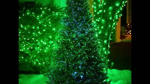Christmas Tree With Optical Fiber Lights - fiber optic dancing lights indoor outdoor christmas tree youtube