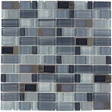 shop elida ceramica brushed city windows staggered mosaic glass