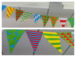 maths classroom decorations or activity tessellation bunting easy