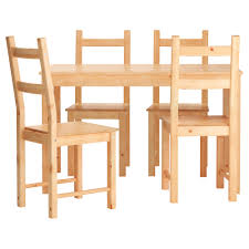 Dining Set With 4 Chairs Dining Table Ikea Pine Dining Table 4 Chairs Ikea Dining Room