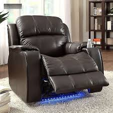 Lazy Boy Chair Repair Power Massager Recliner Cup Holder Electric With Neon Lights Lazy